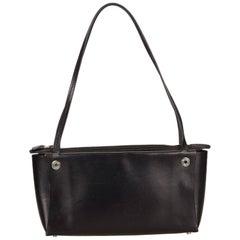 Hermes Black Calf Leather Handbag