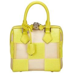 Louis Vuitton Yellow Damier Speedy Cube TPM