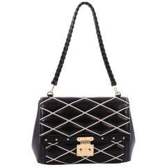 Louis Vuitton Pochette Flap Handbag Malletage Leather