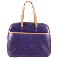 Louis Vuitton Sutton Handbag Monogram Vernis