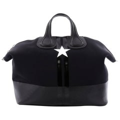 Givenchy Nightingale Satchel Printed Neoprene