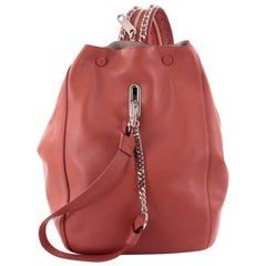 Jimmy Choo Echo Backpack Leather Medium