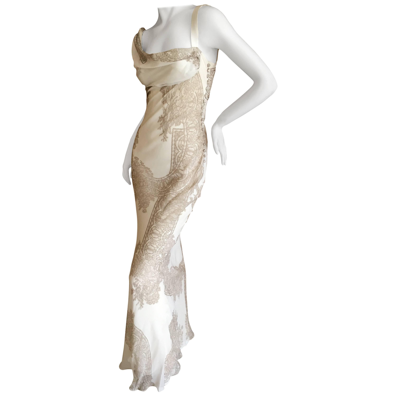 john galliano evening dresses