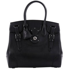 Ralph Lauren Collection Soft Ricky Handbag Leather 33