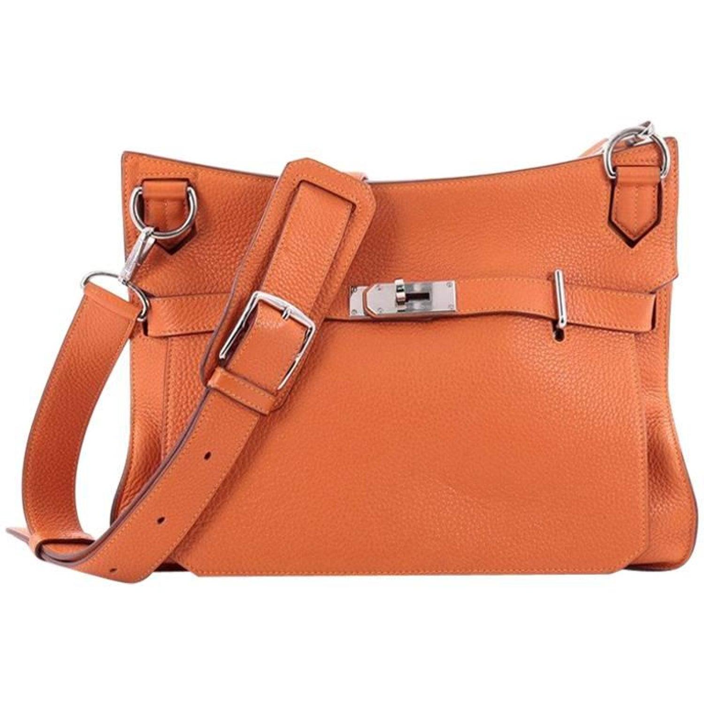 c16dec479f Hermes Eclat Jypsiere Handbag Clemence 34 at 1stdibs