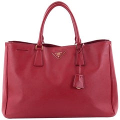 Prada Lux Open Tote Saffiano Leather Medium