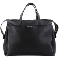 Balenciaga Portfolio Sac Top Handle Bag Leather Large