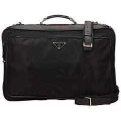 Prada Black Nylon Garment Bag