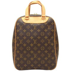 Louis Vuitton Excursion Monogram Canvas Travel Hand Bag