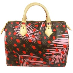 Limited Edition Louis Vuitton Monogram Palm Springs Jungle Speedy 30 /BRAND NEW