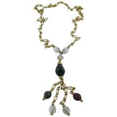Christian Dior Vintage Tassel Necklace