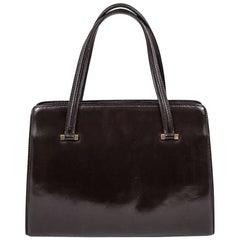 """Hermes Vintage """"Pullman"""" Bag in Brown Box Leather"""