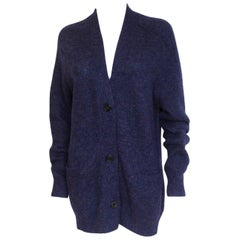 Isabel Marant Etoile Daxton Navy Oversized Long Cardigan F36 UK8