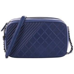 Chanel Coco Boy Large Quilted Leather Camera Bag