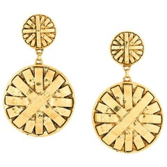 Givenchy Spectacular Couture Earrings, circa 1990