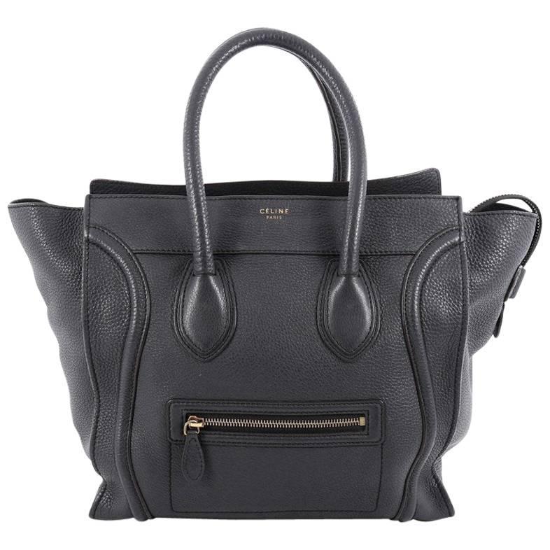 1stdibs Celine Luggage Handbag Grainy Leather Mini 0z9fGq