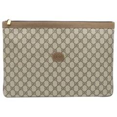 d661e1fa7d94 Gucci Monogram GG Men s Portfolio Travel iPad Laptop Travel Envelope Clutch  Bag. Louis Vuitton ...