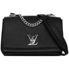 Louis Vuitton SOLD OUT Black Lockme II BB Satchel Crossbody Bag with Receipt