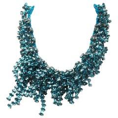 Christian Dior Spring 2014 Swarovski Crystal Necklace