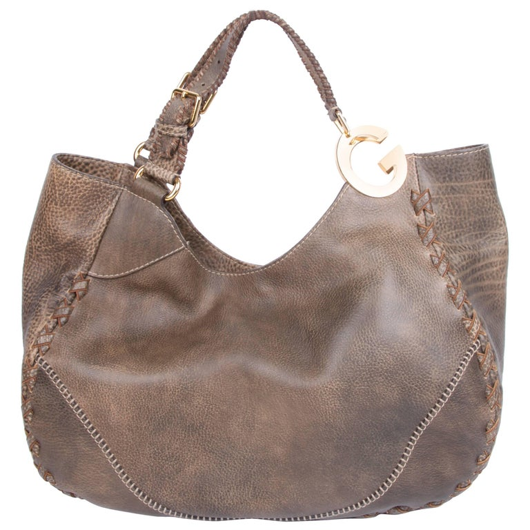 Gucci Charlotte Tote Bag Taupe For