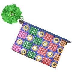Bohemian Flip Clutch Tassel Bag