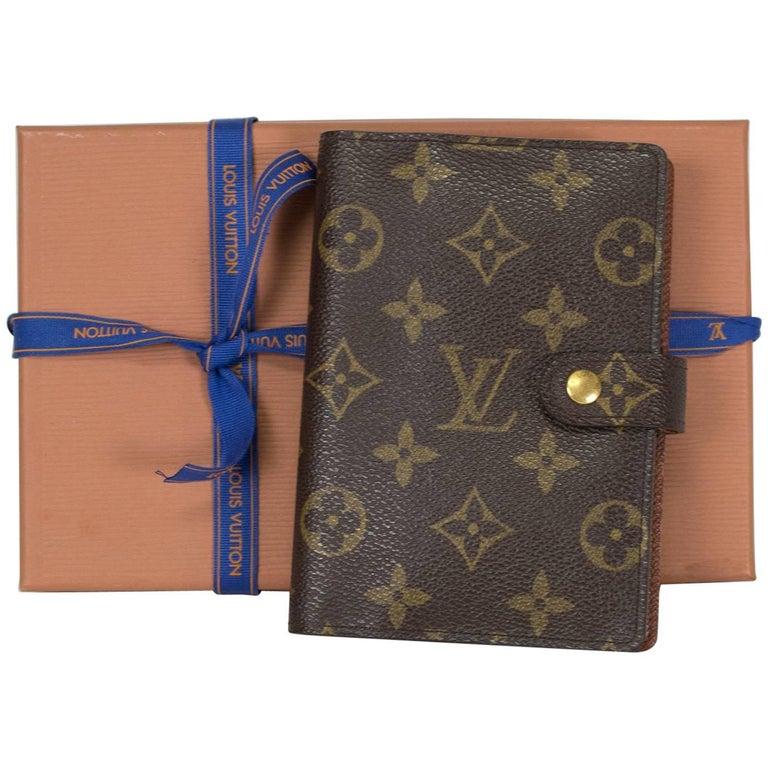 3bfed7d6c7ea Louis Vuitton Monogram Mini Agenda Cover at 1stdibs