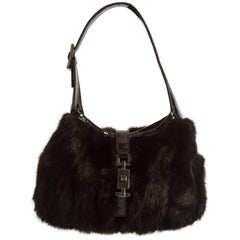 Tom Ford for Gucci Autumn-Winter 1999 mink miniature handbag
