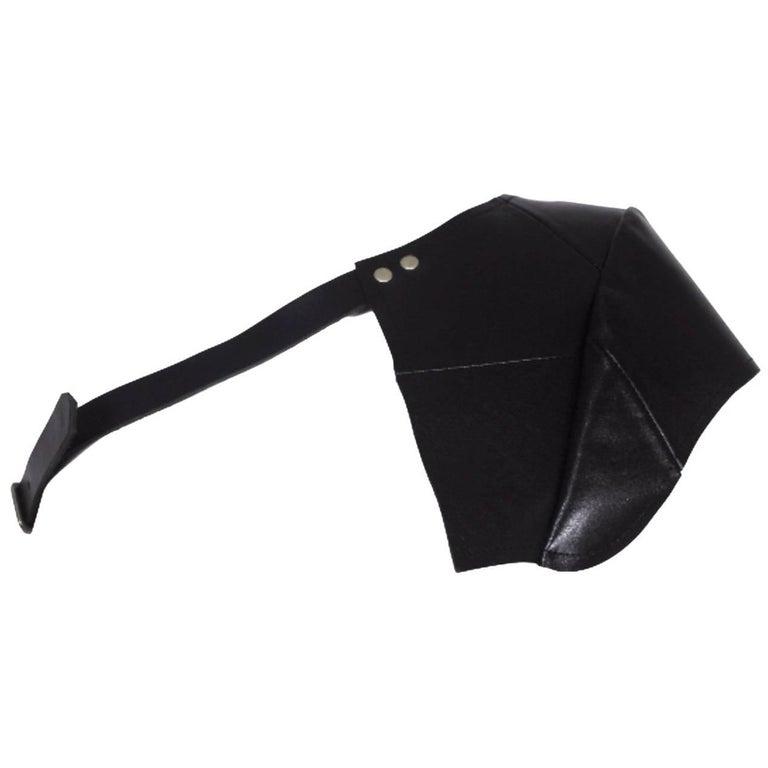 Comme des Garcons 2010 Collection Leather Shoulder Harness