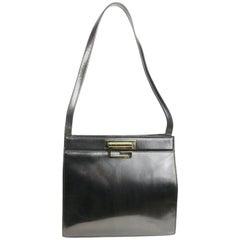 Gucci by Tom Ford Black Leather Handbag