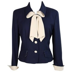 Moschino Cheap and Chic vintage blu jacket women's size 44 it 1990s