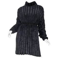 Alaia Iconic Oversized Chenille Dress, Fall 1988 Collection