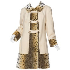 Cheeta Velvet Coat, 1960s