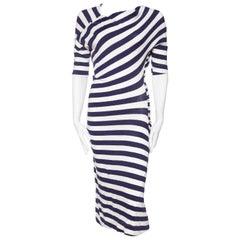 Vivienne Westwood Anglomania Linen/Cotton Knit Dress
