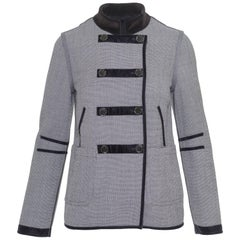 MARC JACOBS Double Face Black and White Jacket