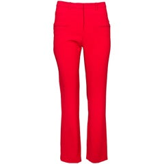 Altuzarra Red Pants Sz IT38