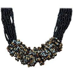Multi Strand Bead Necklace Estate Find