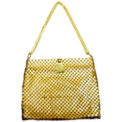 Whiting & Davis Gold Mesh Handbag - Circa 60's