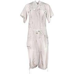 Marc Jacobs Taupe Silk Jumpsuit Sz XS