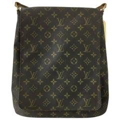 Louis Vuitton Musette Salsa Handbag Monogram Canvas GM