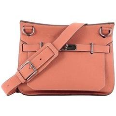 Hermes Clemence 31 Jypsiere Handbag