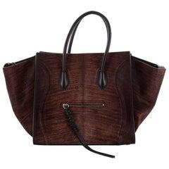 Celine Phantom Handbag Pony Hair Medium