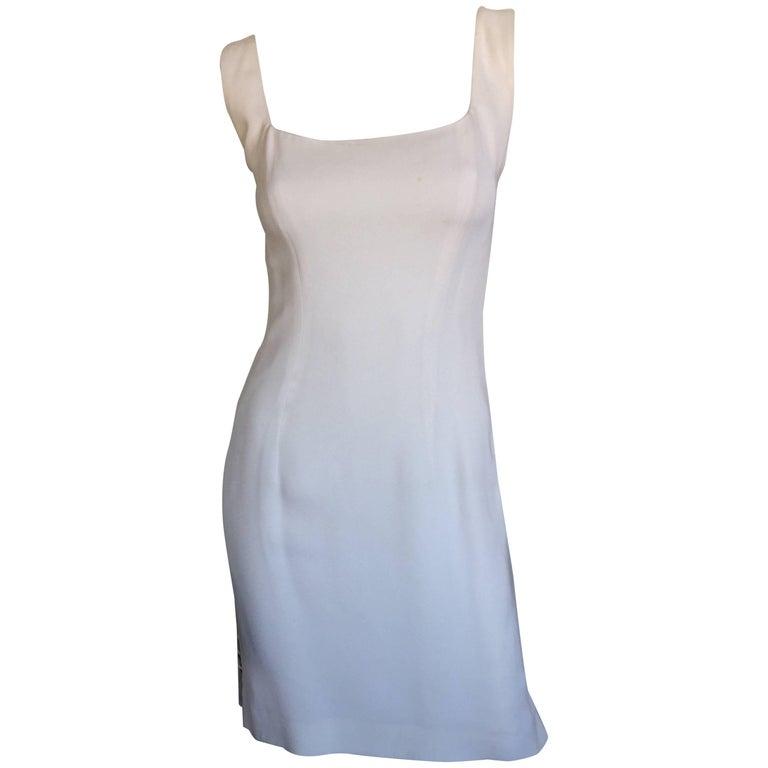 Sophie sitbon white metal disc dress
