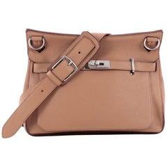 Hermes Clemence 34 Jypsiere Handbag
