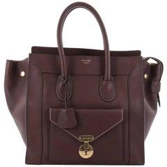 Celine Envelope Luggage Handbag Smooth Leather Mini