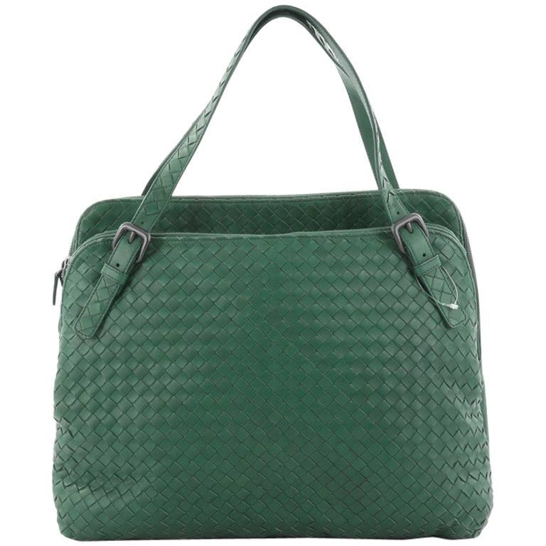 Bottega Veneta Double Compartment Tote Intrecciato Nappa Large For Sale