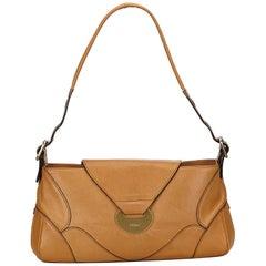 Chloe Brown Leather Shoulder Bag