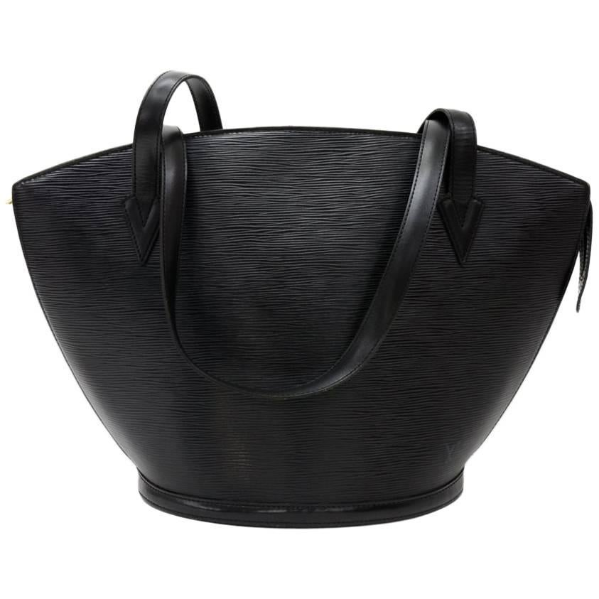 Louis Vuitton Vintage Louis Vuitton Saint Jacques Gm Brown Epi Leather Shoulder Bag MAKbaVp
