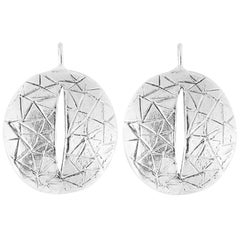Giulia Barela Eye 925 silver earrings