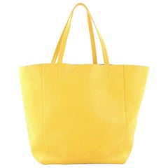Celine Bicolor Phantom Cabas Tote Leather Medium