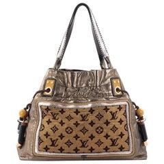 Louis Vuitton Sunbird Limited Edition Monogram Lurex Canvas Handbag